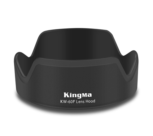 Kingma KW-60F Lens hood for Canon M5 M6 M100 camera