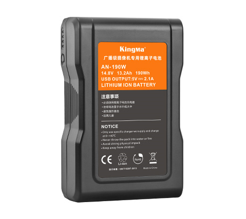 KingMa AN-190W High Load Gold Mount Li-ion Battery