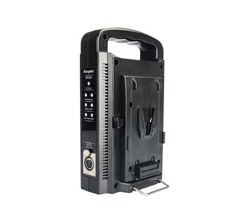 KingMa Dual Channel Battery Charger  for Professional Broadcast V-Mount V Mount Li-ion Battery