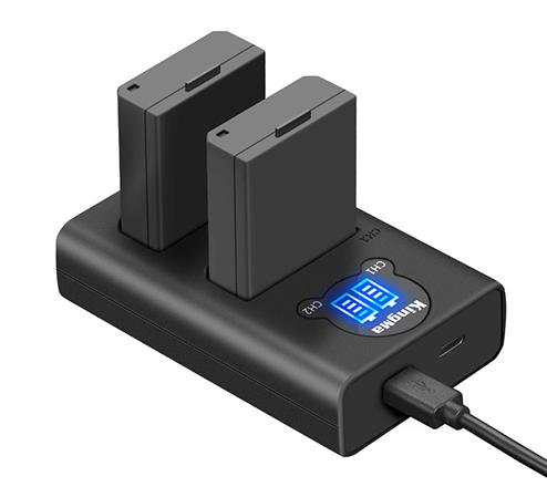 劲码相机电池LP-E10电池充电器套装适用于佳能相机