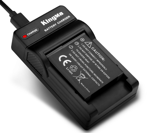 Kingma NP-BG1 battery &Charger kit for Sony  H7 HX5C camera