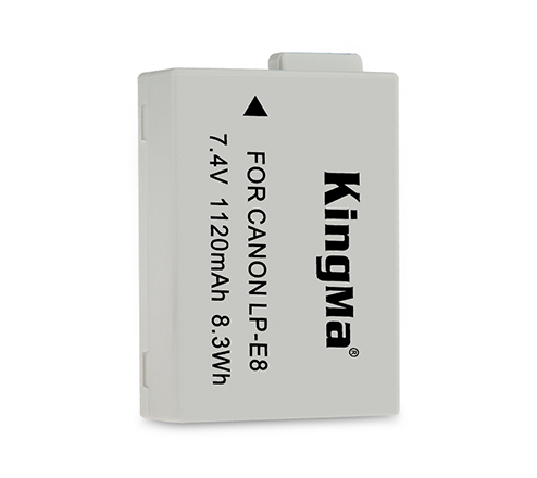 Kingma LP-E8 Battery for Canon  EOS 650D 700D Camera
