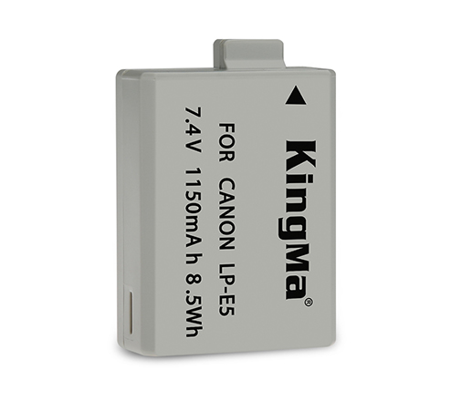 Kingma LP-E5 battery for Canon EOS 450D 500D camera