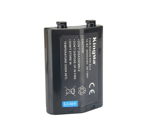 劲码 EN-EL4 电池适用于尼康D300 D700相机