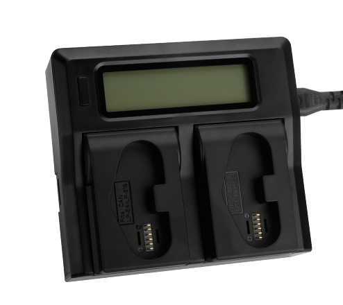 Kingma Dual LCD battery charger for Canon LP-E19