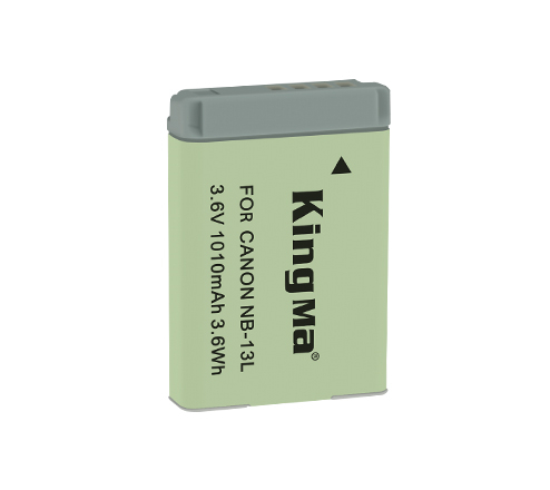 Kingma NB-13L battery for Canon G7X3 G7X camera