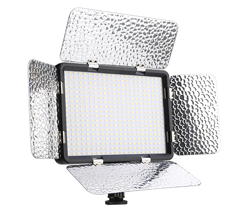 Kingma LED video light LED015-396AS with bi-color dimmable for camera lighting