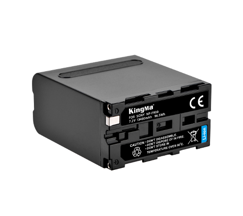 劲码大容量全解码电池NP-F990电池适用于广播级摄像机