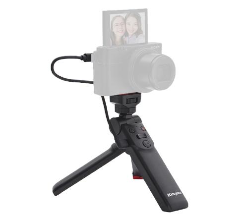 劲码Vlog配件Vlog手持拍摄器三脚架适用Sony微单相机带Multi接口