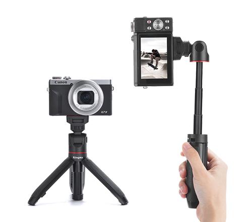 Kingma Extendable Selfie Stick Tripod Vlogging Handle Grip for Smartphone Camera Vlogging