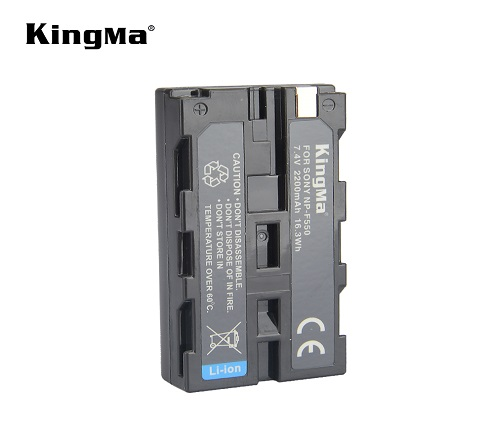 Kingma NP-F550 Battery for Sony CCD-SC55/SC65