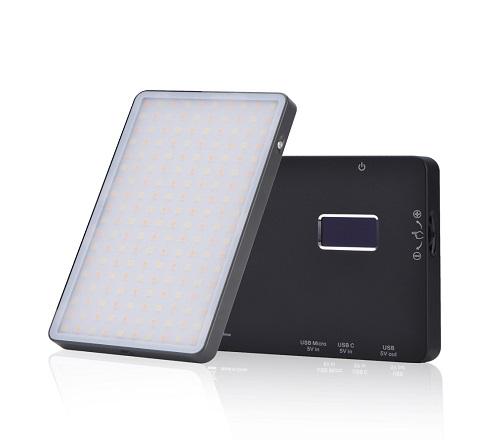 KingMa Mini Portable LED Video Light KM-180AI for video record and photo shooting