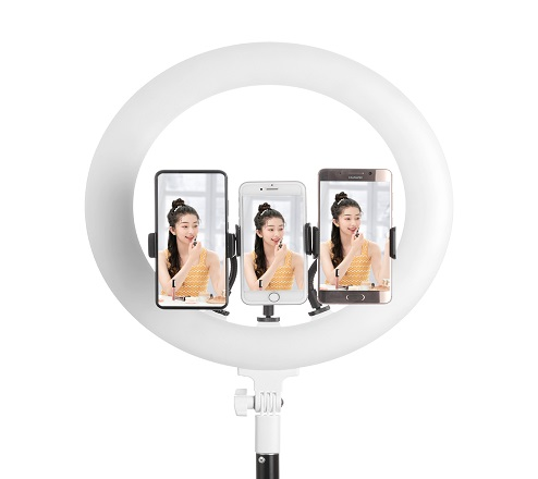 KingMa 15 Inch Ring light with tripod stand for Photograph, Make up, Live streaming, Selfie