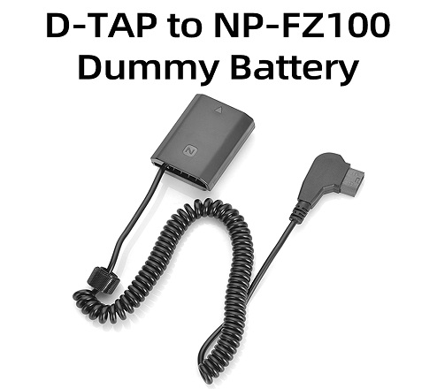 KingMa D-TAP NP-FZ100 Dummy Battery for Sony A7M3, A7R3, A9, A7RM3
