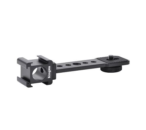 KingMa Super Lightweight 3-Side Hot Shoe Bracket can apply for DSLR Mirrorless Camera