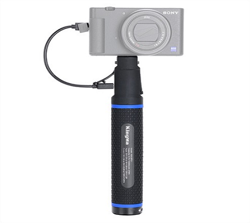 KingMa portable power hand grip built in 10000mAh capacity power bank for action camera accessories